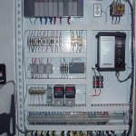 Electrical panel for Machine for Customer
